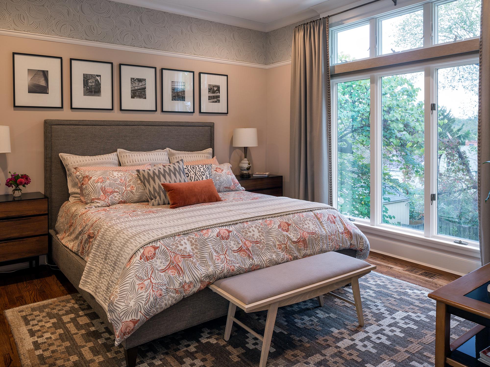 Remodeled bedroom