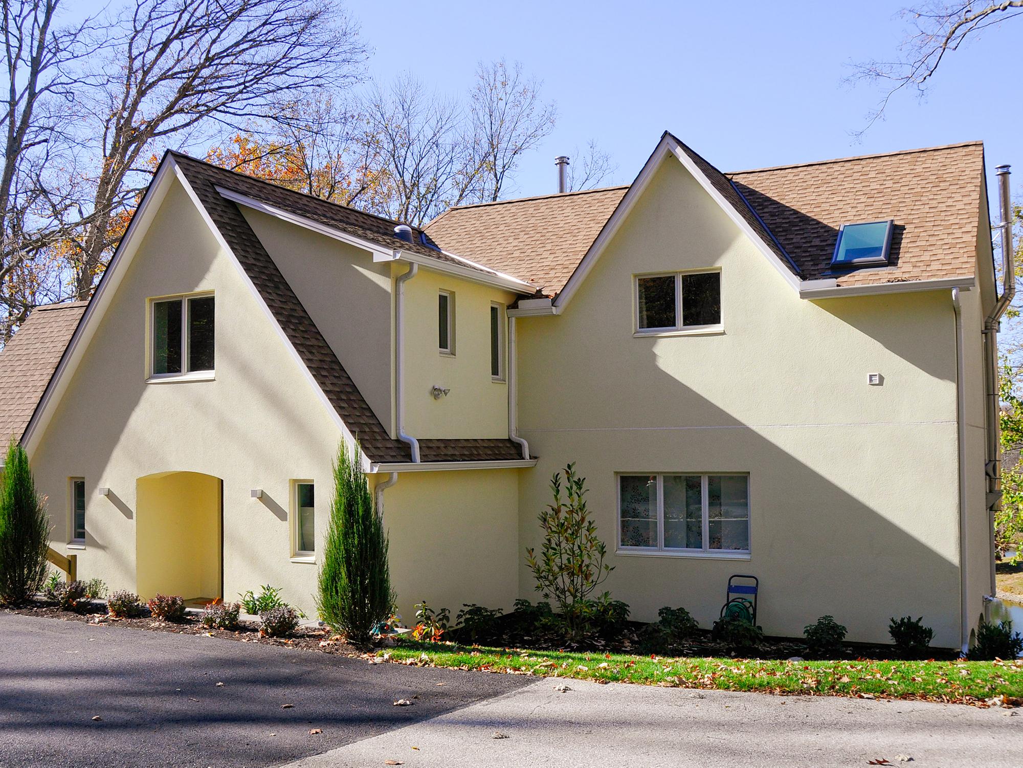 Front Exterior Residential Architecture Cincinnati Wilcox Architecture