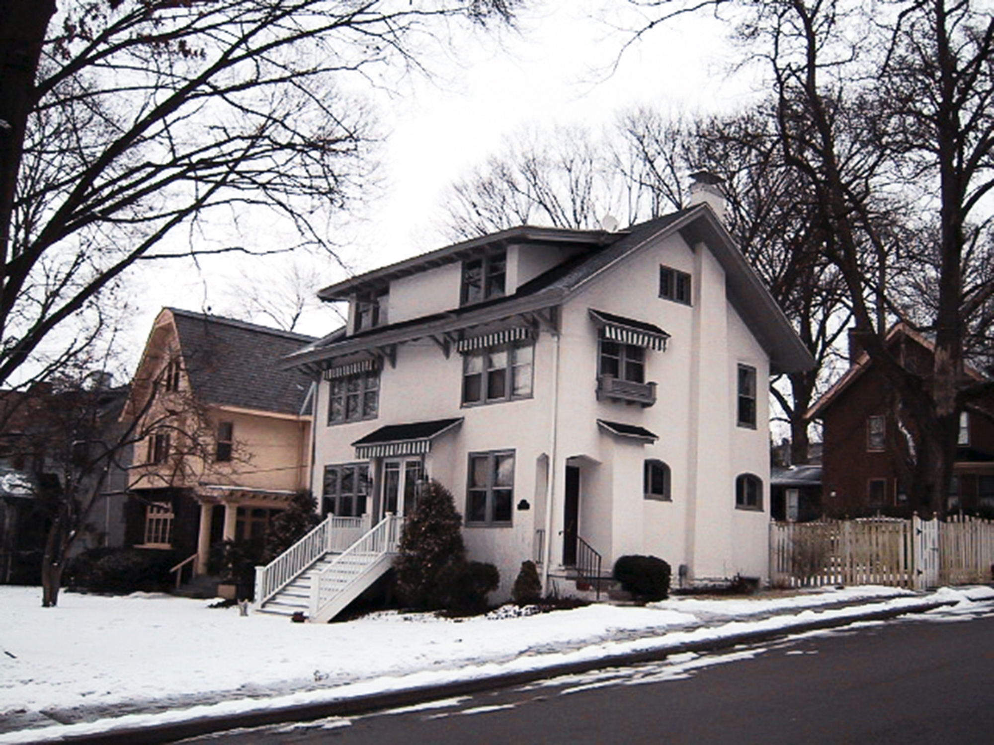 Hyde Park residential architecture
