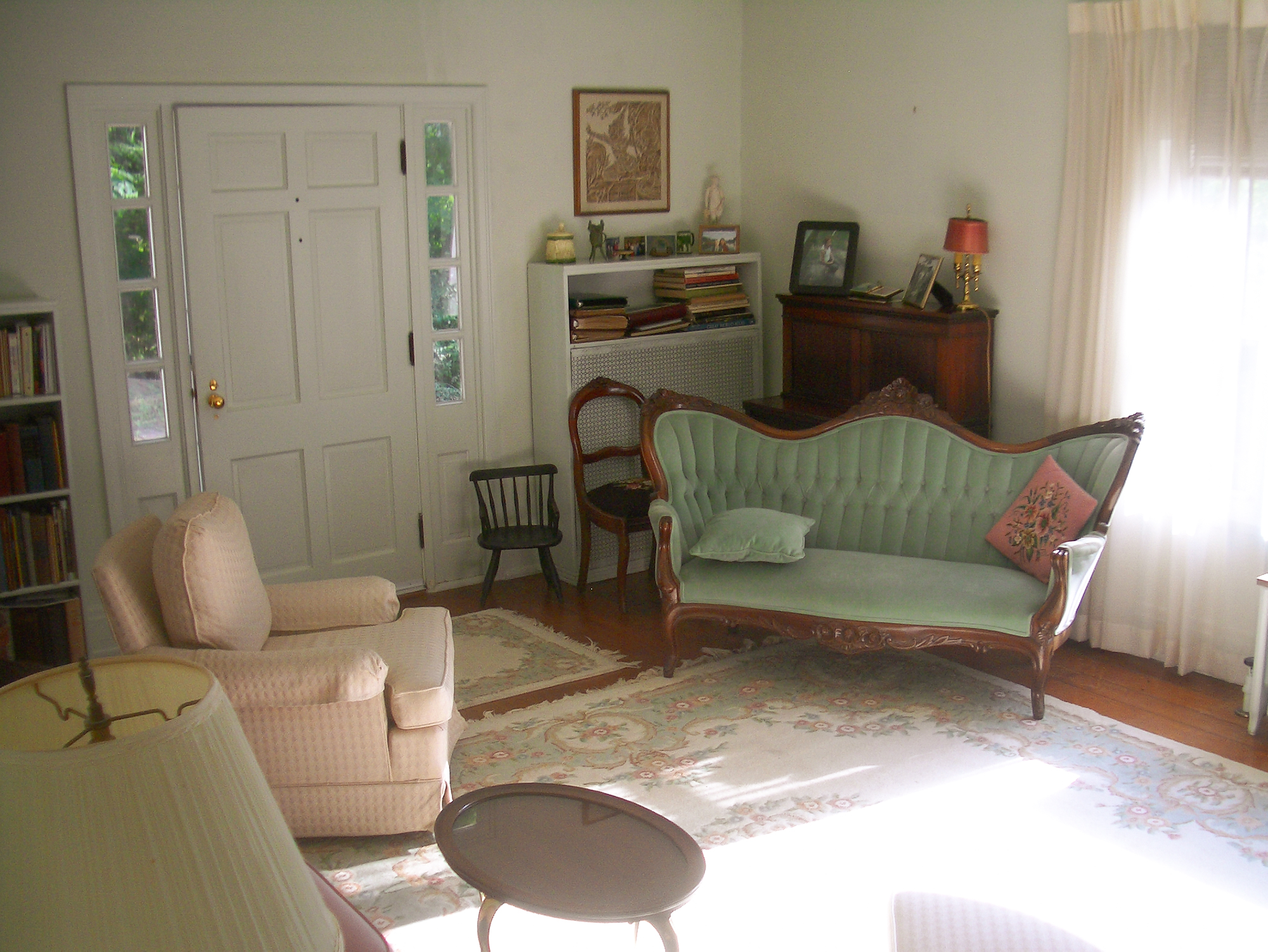 Existing living room