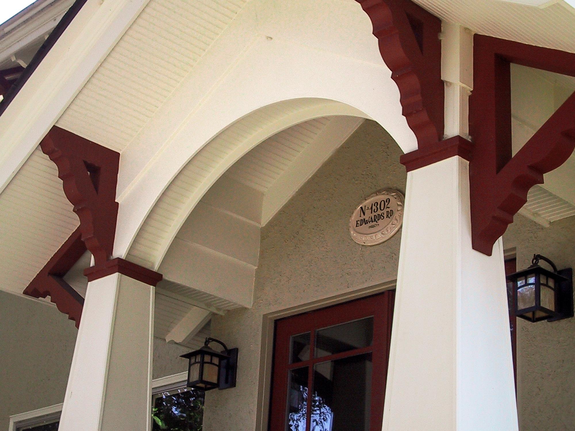 hyde Park porch Wilcox Architecture