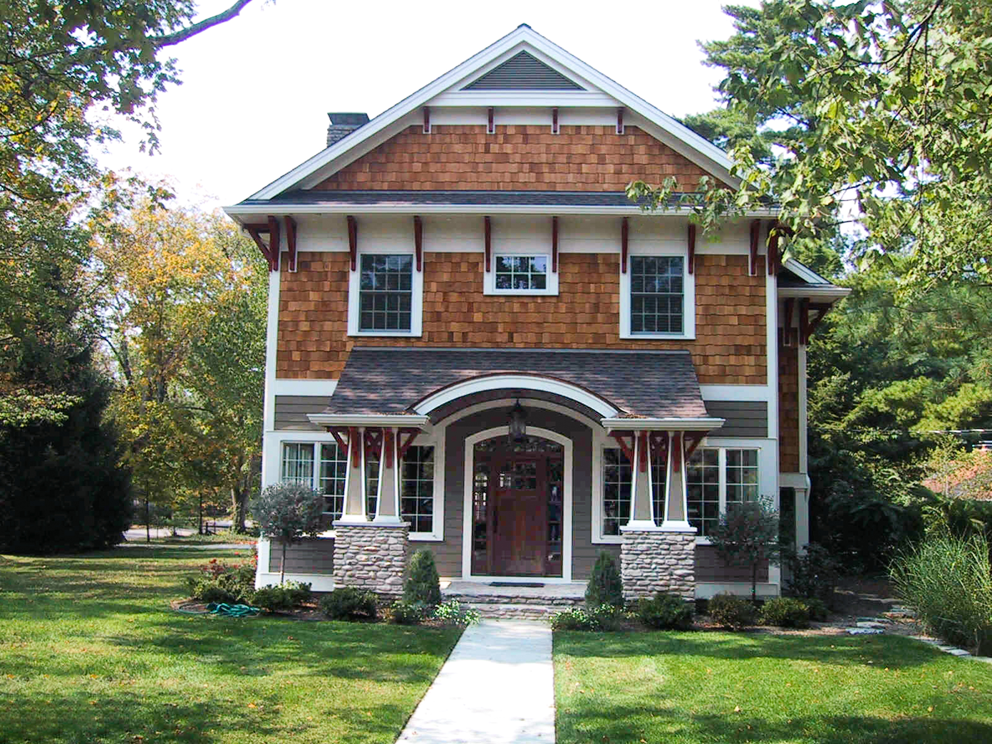 After Terrace Park house converted to two-story home
