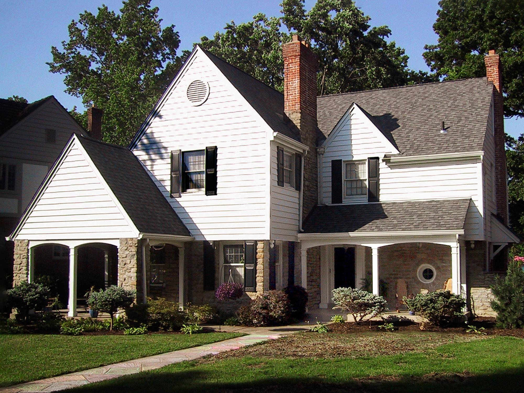 Oakley covered front porch addition Cincinnati