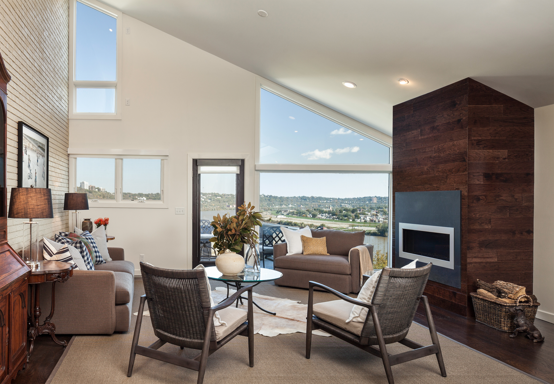 Mt Adams condo renovation after Wilcox Architecture