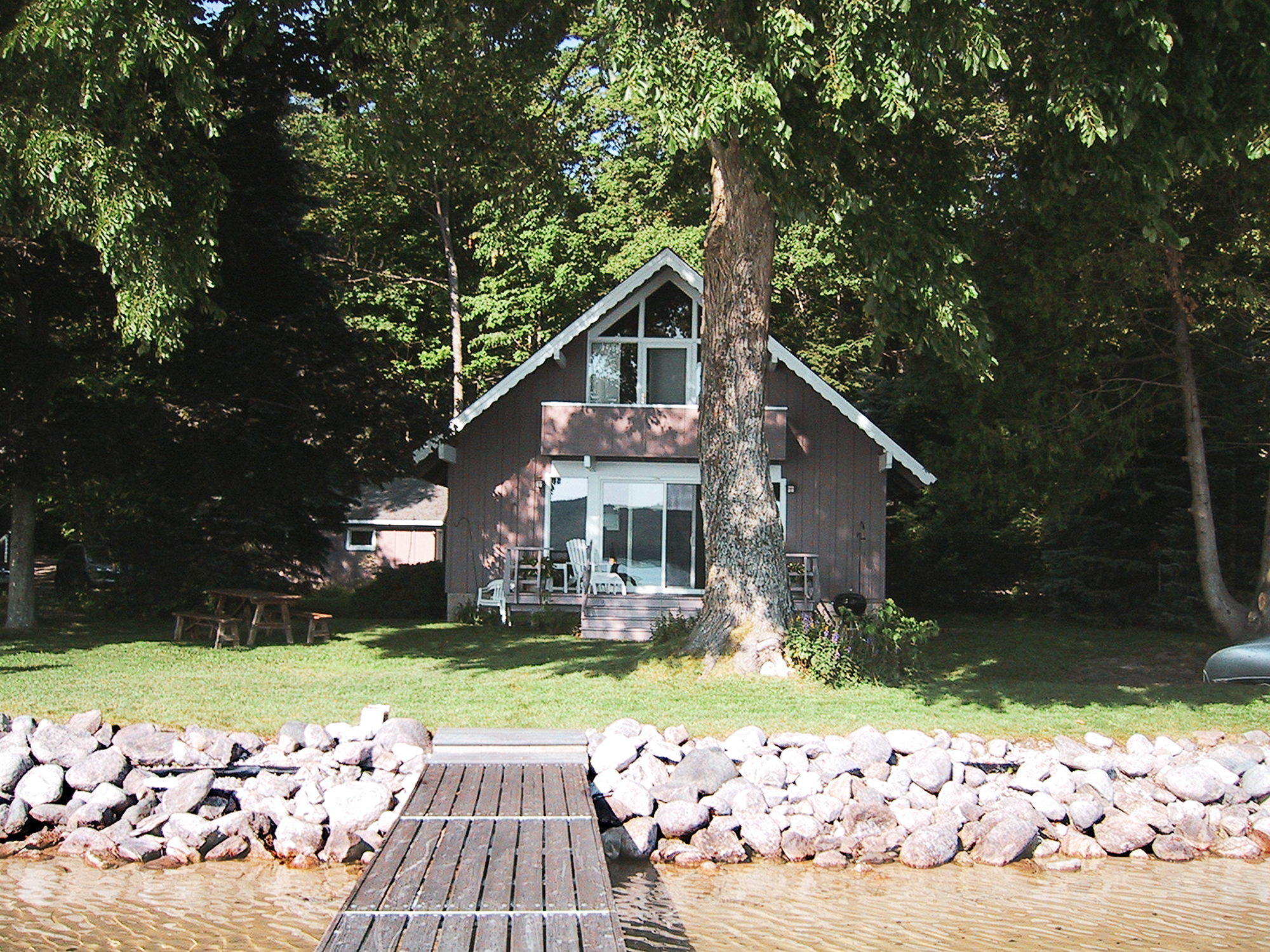 Existing Lake house northern Michigan
