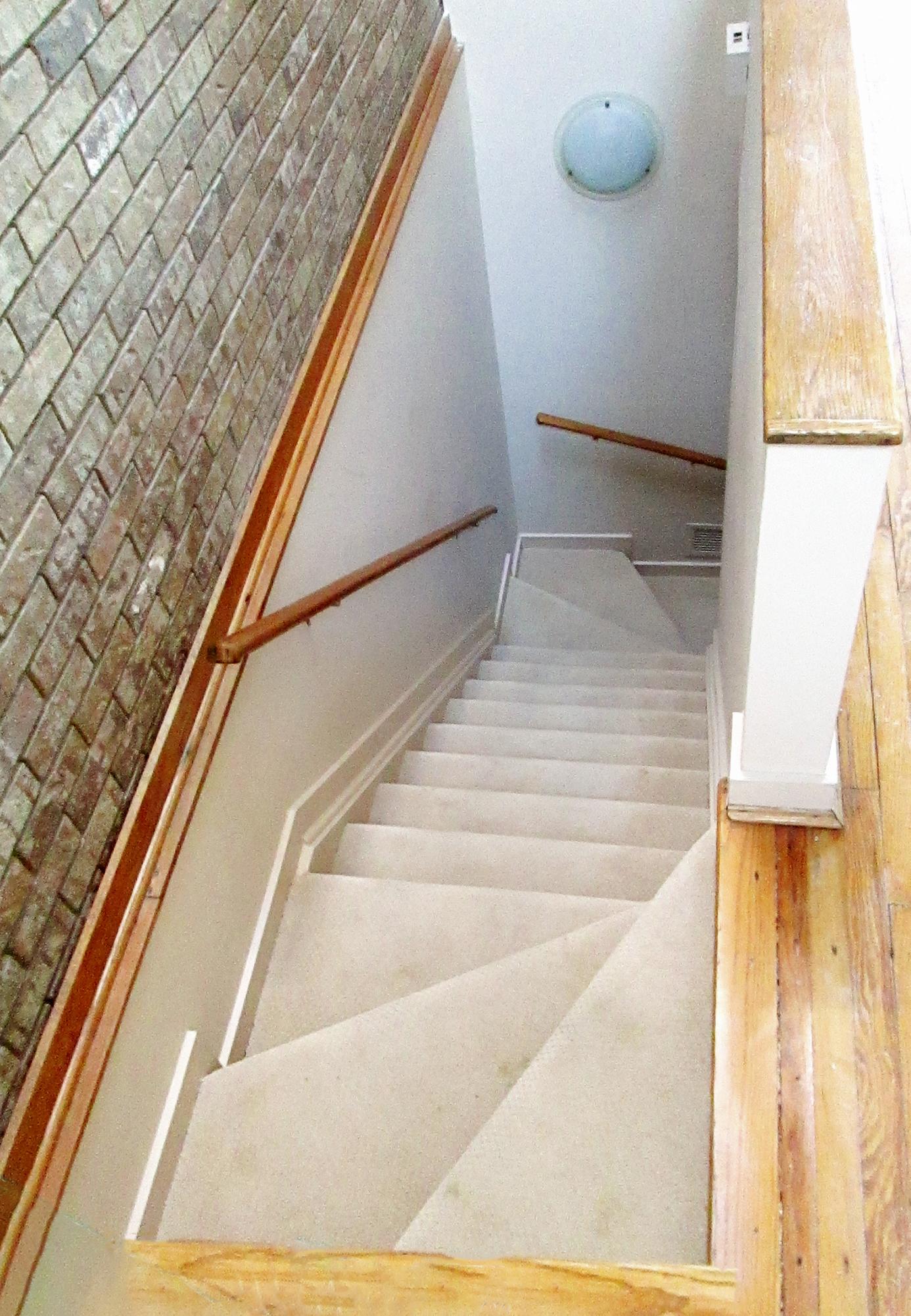 Mt. Adams condo staircase
