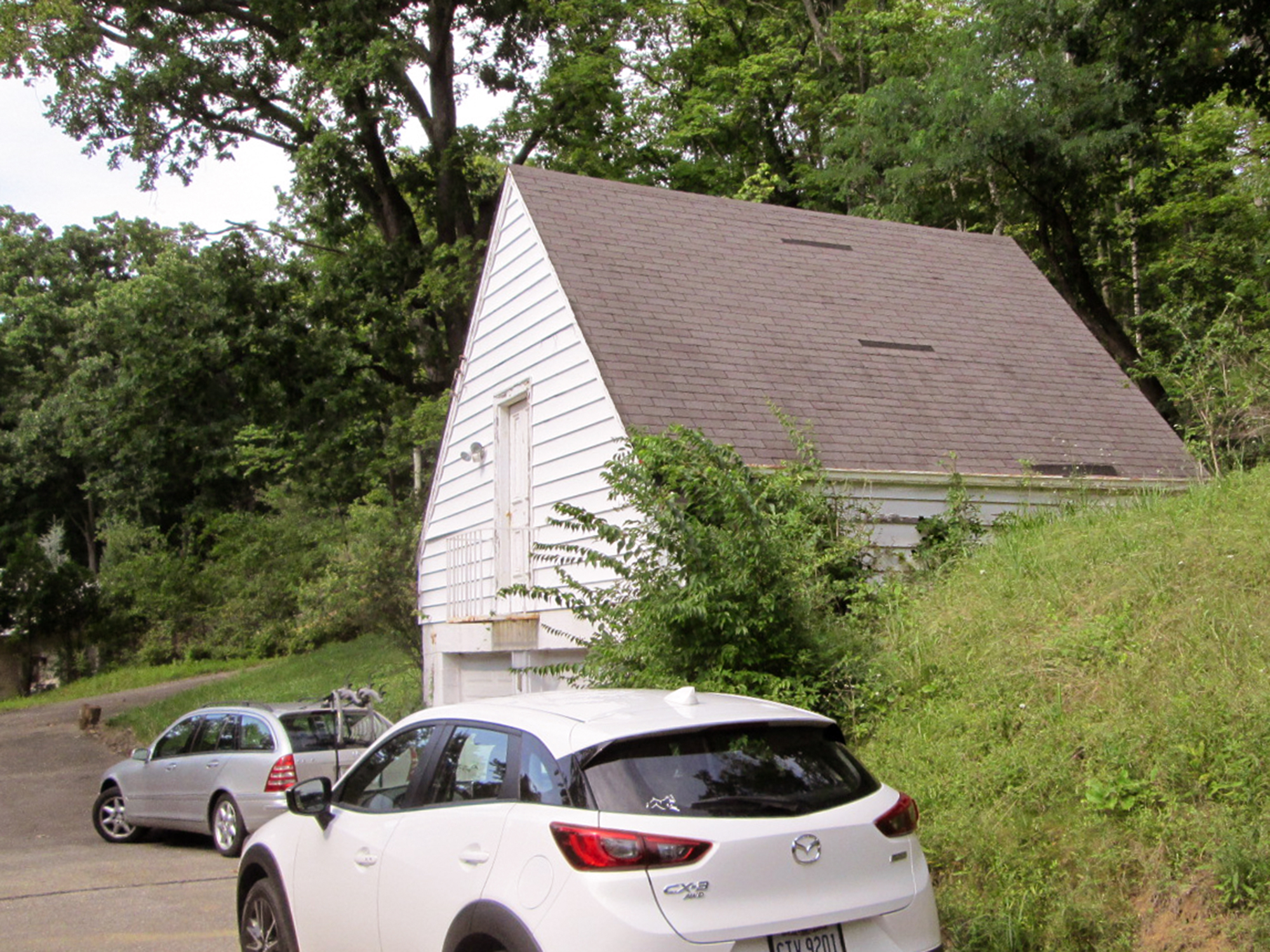 Existing garage