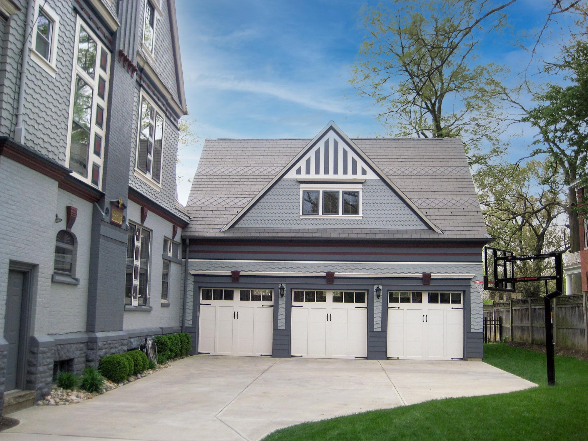 3-car garage residential architecture Wilcox Architecture