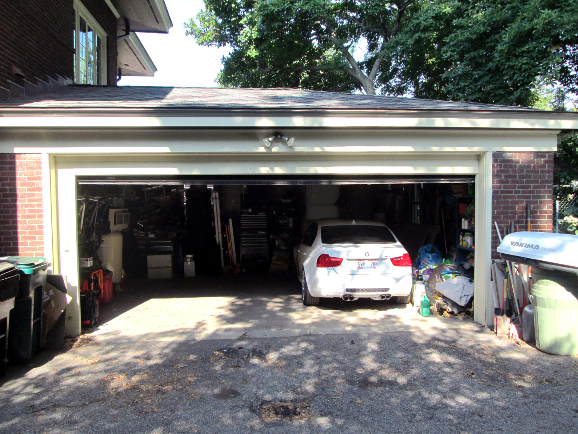 Garage before remodel