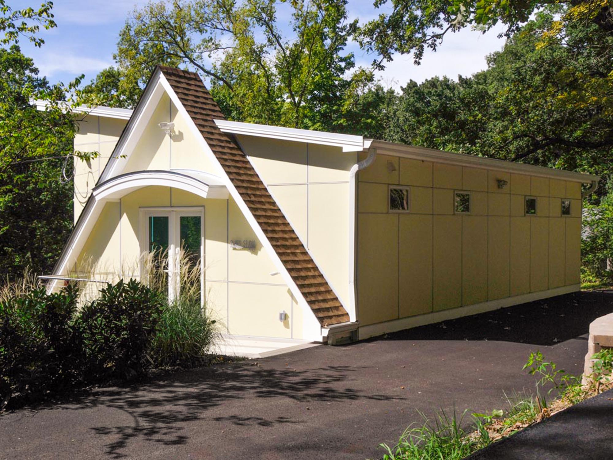 New Art Studio over garage
