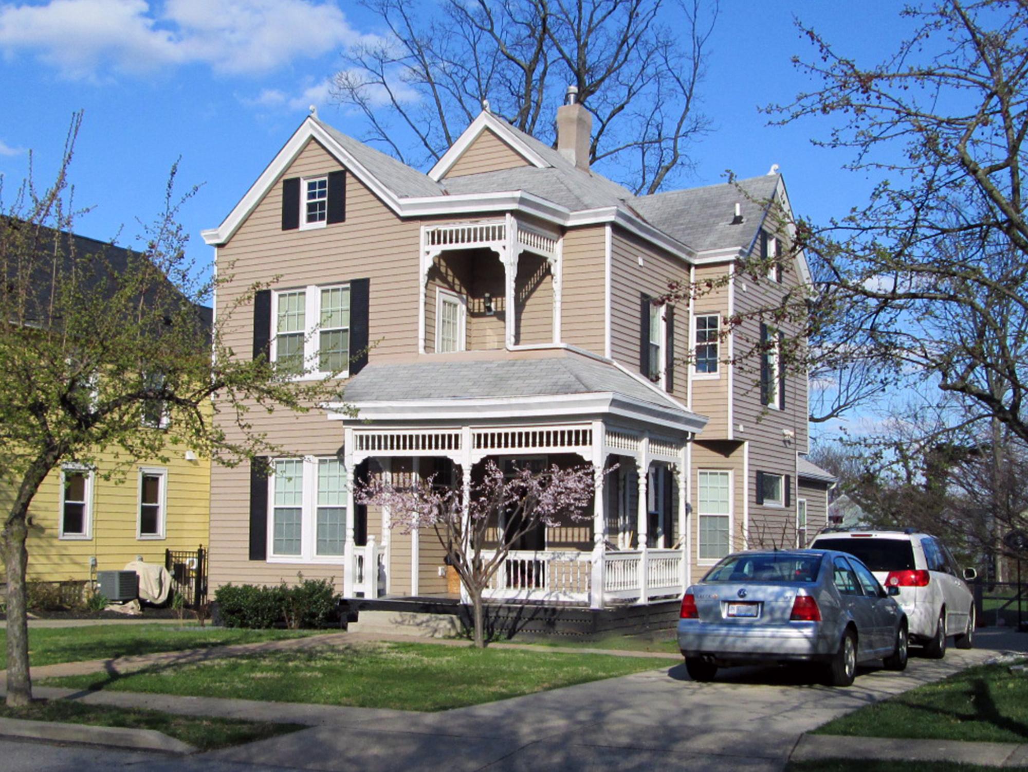 Victorian porch Oakley, Cincinnati