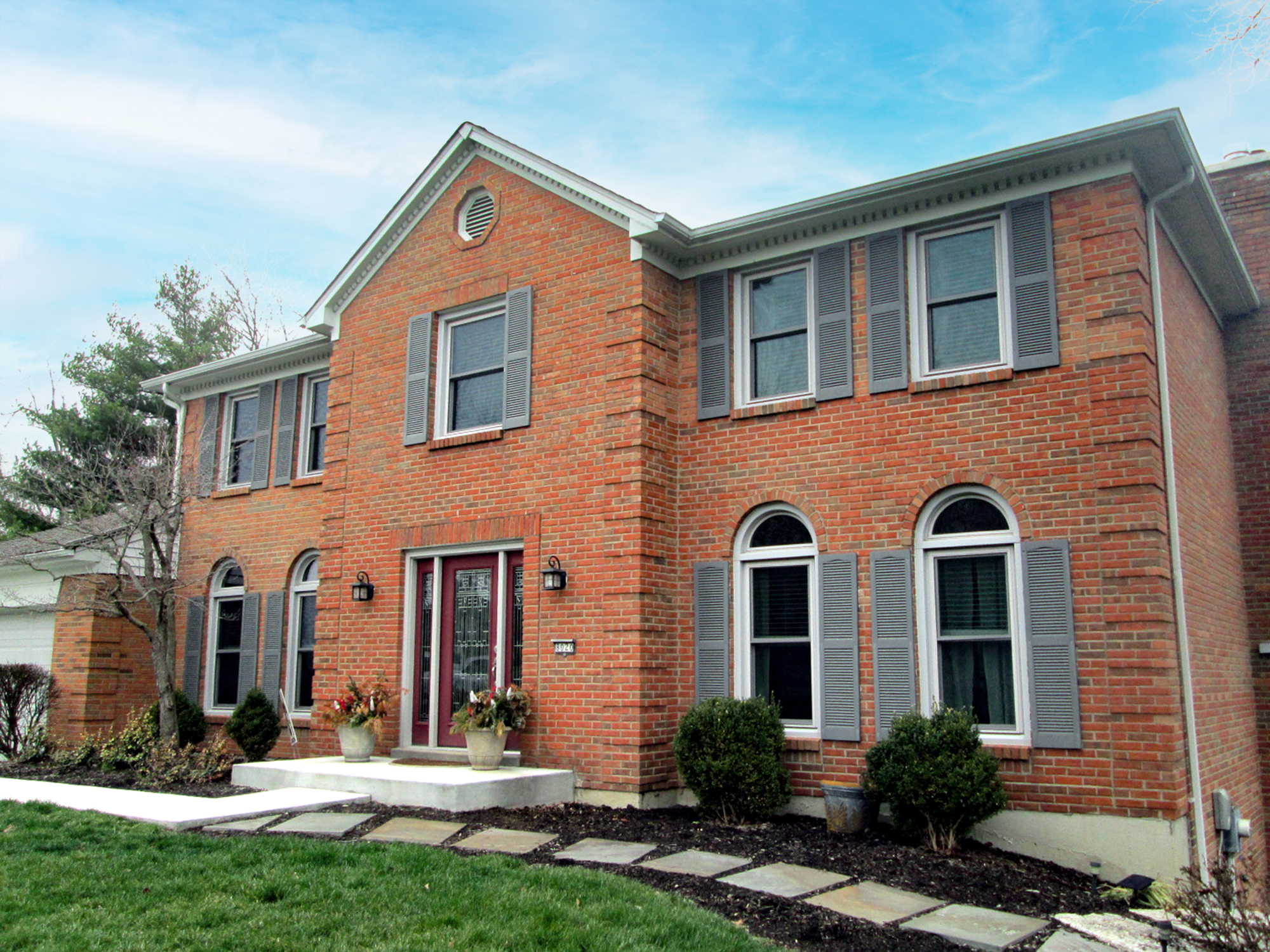Existing home exterior residential architecture