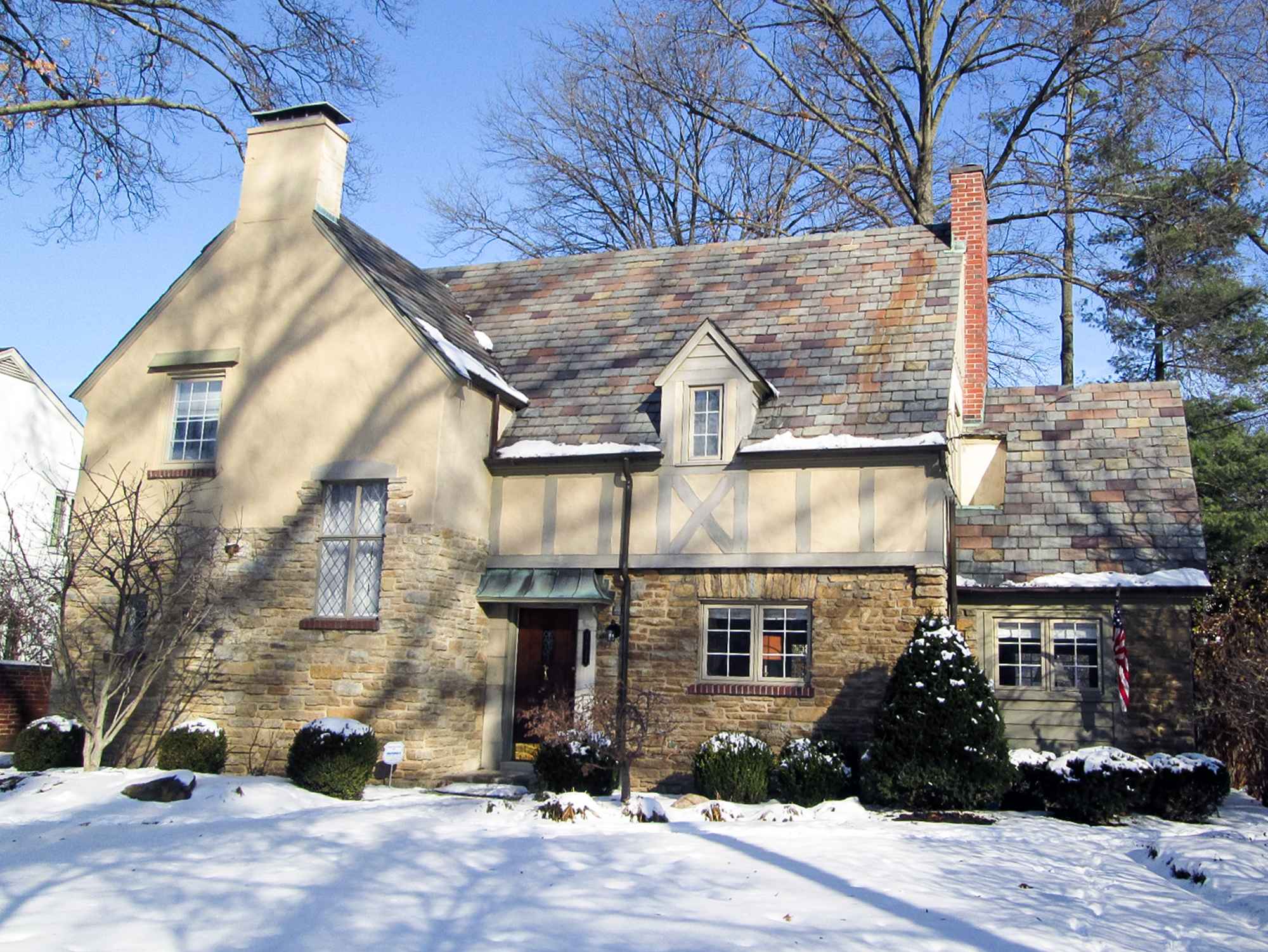 Tudor style home East Hyde Park residential architecture