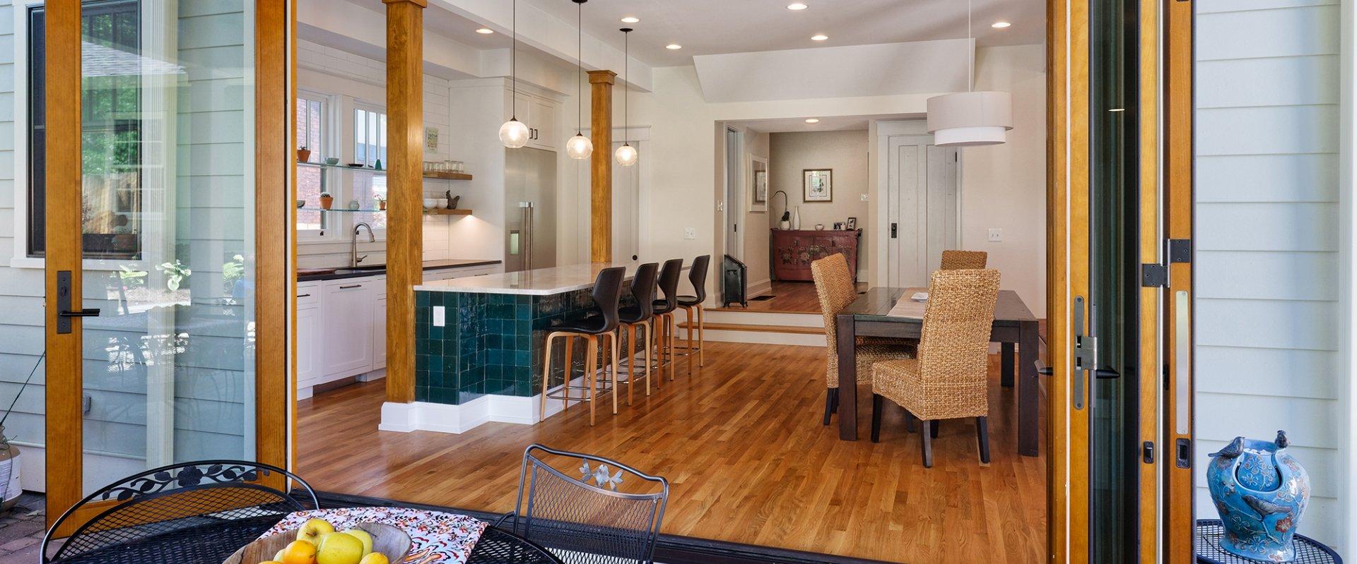residential Architecture kitchen family room Wilcox Architecture Cincinnati