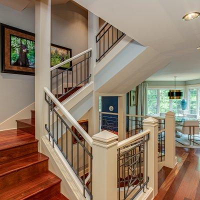 open stairscase