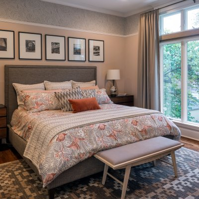 Renovated master suite