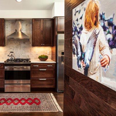 Mt. Adams condo renovation kitchen Wilcox Architecture