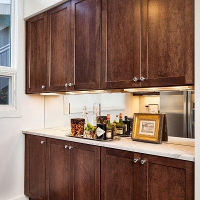 Mt. Adams condo renovation kitchen cabinets Wilcox Architecture