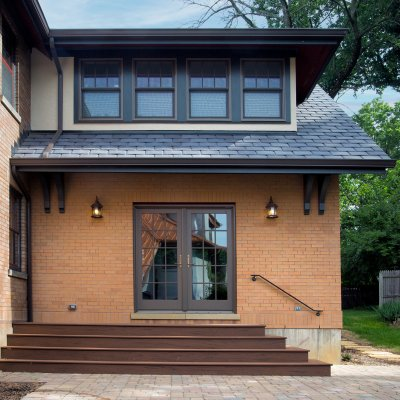 2-story addition Hyde Park residential Wilcox Architecture