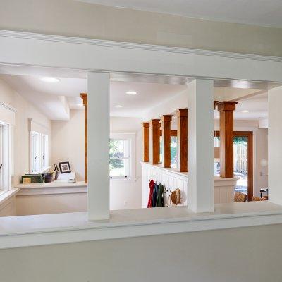Detail of indoor window