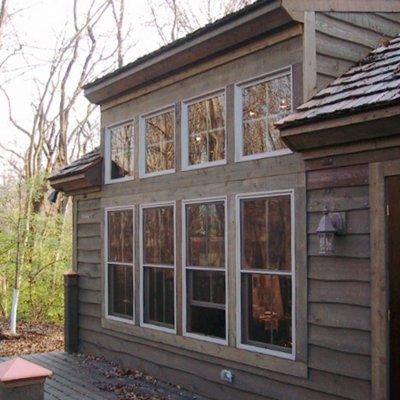 Rear exterior Artist's studio