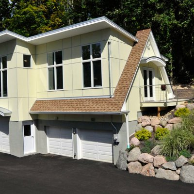 Art Studio addition over garage Tom Wilcox Residential Architect