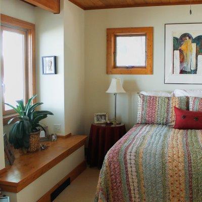 Glen Lake master bedroom first floor