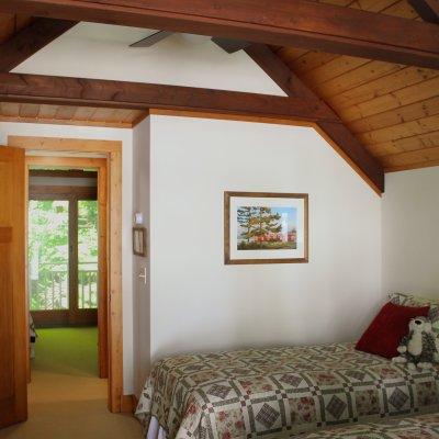Glen Lake Cottage upstairs bedroom