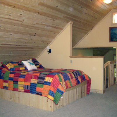 Loft with built-in beds