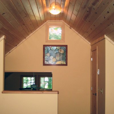 Loft and play area over garage