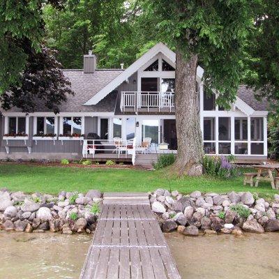 Glen Lake cottage Wilcox Architecture