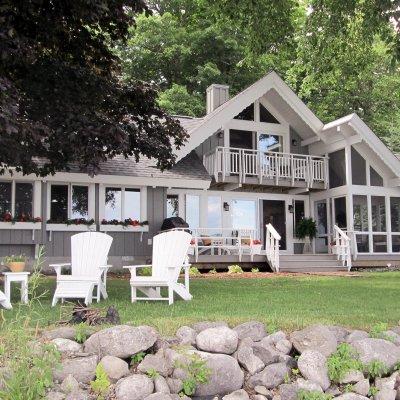 Glen Lake, Michigan year-round lake front house
