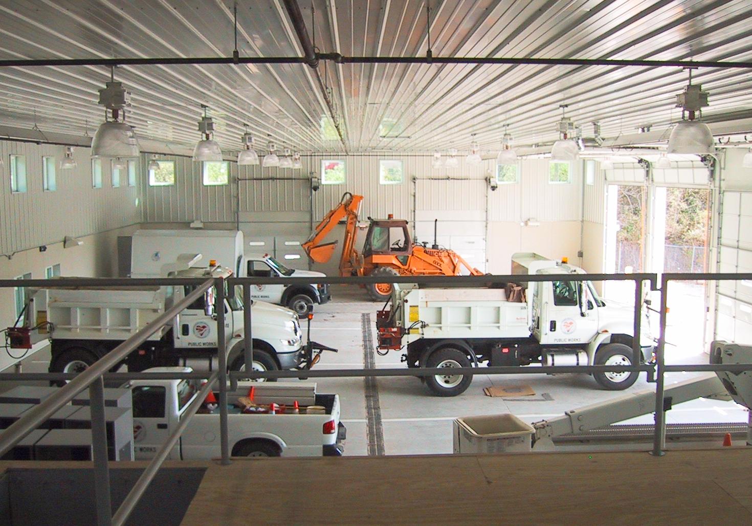 Loveland Public Works garage