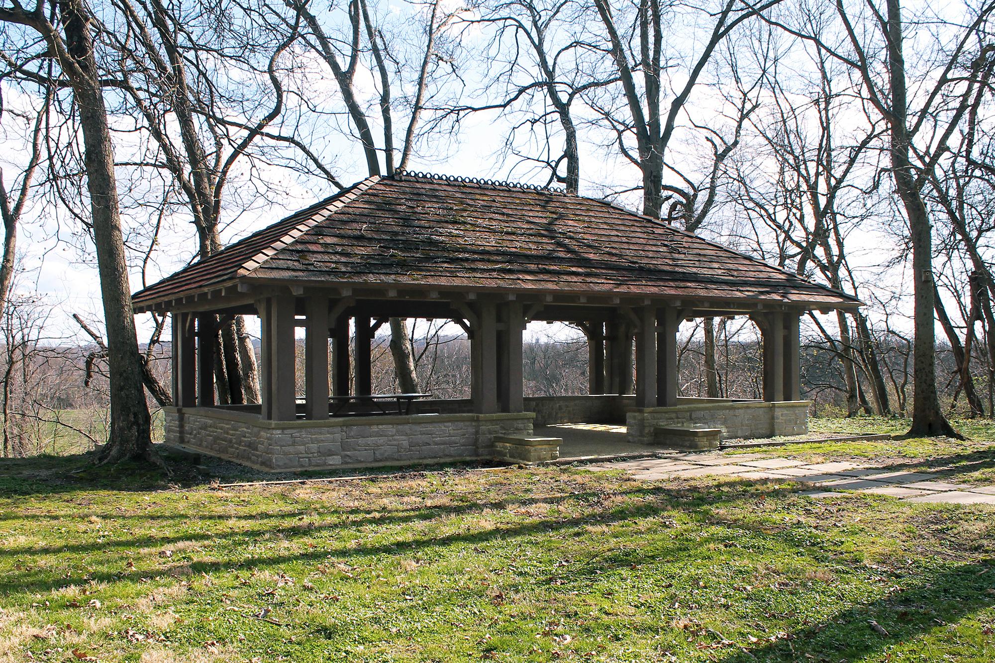 Public Park Shelter Mariemont Wilcox Architecture